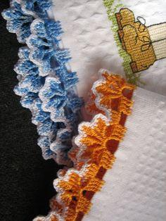 Filomena Crochet e Outros Lavores: Pano de Prato