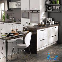 #COCHogar Dos de las principales #cualidades de una #cocina moderna son la #estética y la #funcionalidad que, combinadas, son la #clave para obtener buenos resultados en tu afán de optimizar el #espacio de tu cocina.