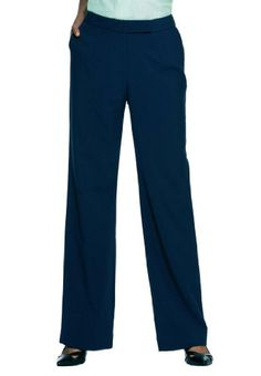 Jessica London Women's Nassau Bootcut Pants Now for 52.62.  Plus Size Pants & Skirts by Jessica London. From our famous Nassau mix and match suiting collection, these tailored plus size bootcut pants are the best season-spanning work pants you'll ever own. Because of their easy-care fabric they can be washed again and again and don't require costly dry cleaning. For busy plus size women who need to look polished and professional at work these plus size work pants are perfect. Contoured…