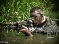 MACVSOG elite soldier in the Vietnam war
