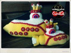 Yellow Submarine Big&Small, Cherry Love Crochet