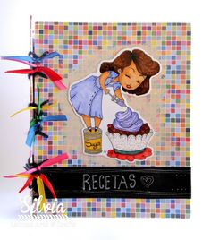 Silvia Scrap: Reto 65 en Latinas Arts & Crafts. A Todo Color