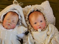 Käthe Kruse Puppen Paar, Stoffkopf, 20er Jahre, Sammlertraum! | eBay