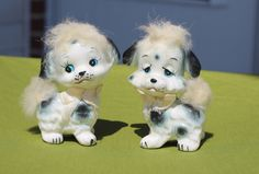 Vintage Spotted Dogs Salt and Pepper Shakers 1950s by AmericanVintageAve on Etsy