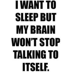 my nightly struggle...