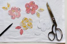 how to applique a tea towel (diy craft project) #applique #sew #handmadegift
