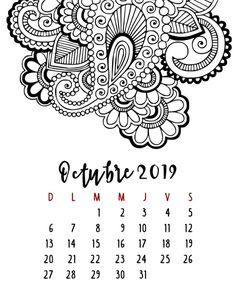 Calendario 2019 – Mama Inventiva Calendar Organization, Thing 1, College Hacks, Wedding Cards, Bullet Journal, Scrapbook, Lettering, School, Journal Ideas