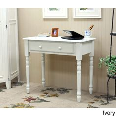 Vera Antique 1-drawer Desk - Overstock™ Shopping - Great Deals on Desks