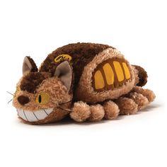 My Neighbor Totoro Fluffy Cat Bus Plush - Gund - My Neighbor Totoro - Plush at Entertainment Earth