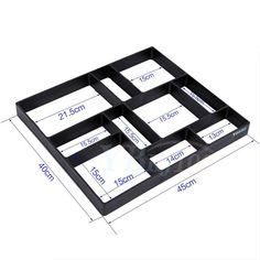 Patio & Garden - Aramox DIY Garden Concrete Paving Mold For Pavement Walkways Outdoor Paving Plastic Mold Image 5 of - Stepping Stone Molds, Concrete Stepping Stones, Concrete Paving, Garden Stepping Stones, Concrete Molds, Concrete Garden, Cement Diy, Diy Concrete Driveway, Outdoor Paving
