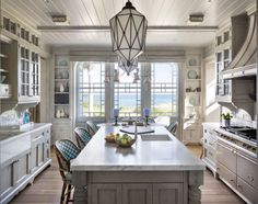 East Quogue Home - Kitchen