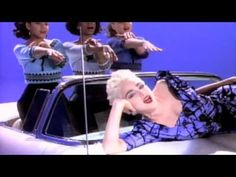"""Madonna """"True blue"""" videoclip released in 1986 and directed by James Foley Madonna Music Videos, Madonna Albums, 80s Music, Music Songs, Good Music, Madonna True Blue, Madona, Best Kisses, Artist Album"""