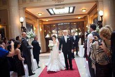 Ceremony at Liuna Station Ballrooms, King George, Bridesmaid Dresses, Wedding Dresses, Banquet, Real Weddings, Wedding Decorations, Hamilton Ontario, Conference