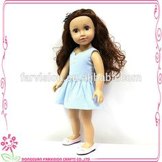 18'' GIRL doll soft body vinyl head wholesale country girl doll, View country girl doll, Farvision doll Product Details from Dongguan Farvision Crafts Co., Ltd. on Alibaba.com