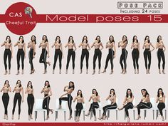 Sims 4 CC's - The Best: Model poses 15 Selfie - Posepack-CAS- by HelgaTish...