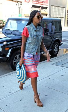 Solange Knowles  image courtesy of thestylenetwork.com  #dreamindenim