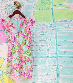 Lilly Pulitzer Briella Fit & Flare Dress in In the Vias
