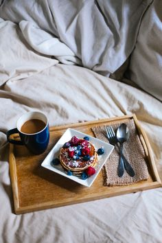 Pancakes In Bed