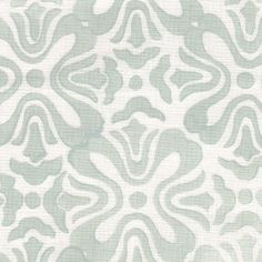 Tulip | Galbraith & Paul  Mineral on White Linen Possibility for roman shades?