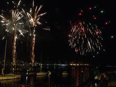 Cardiff Bay fireworks December 2013 www.callofthewild.co.uk