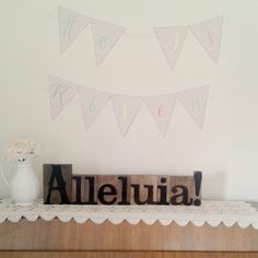 #Win a Set of Alleluia! Letterpress Blocks from DaySpring! http://www.imperfecthomemaker.com/giveaways/alleluia-letterpress-blocks-from-dayspring?lucky=135 via @imperfecthome