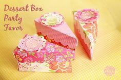 Dessert Box Party Favor