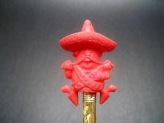 Frito Bandido pencil toppers