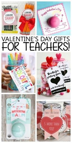 Valentine's Day Gifts For Teachers #teachersdaycard Valentine's Day gift ideas for Teachers! | Teacher Valentines