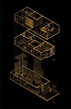 Feature House,Exploded Isometric                                                                                                                                                                                 More