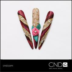 Happy Mother's Day from all of us at CND! Don't you love these avant-garde nails CND Education Ambassador John Nguyen did for VietSALON Magazine? John's vision was that pink roses are often gifted on Mother's Day as they symbolize admiration, gratitude and peace.