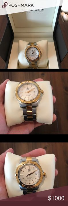 TAG HEUER WATCH! GREAT CONDITION TAG HEUER WATCH! Gently used in great condition. With extra links and band. Tag Heuer Accessories Watches