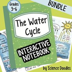This bundle is all about the Water Cycle!This FREEBIE is a good example of what is in my BUNDLED units.Unit Bundle Includes:The Water Cycle Foldable for an interactive notebookThe Water Cycle Notes Foldable for an interactive notebookAll the Water in the Earth Foldable for an interactive notebookWater Cycle Vocabulary set for an interactive notebookWriting PromptThe Water Cycle LAB My Life as a Drop of WaterTask CardsWhat I will Learn this Year Glue-InWeekly warm-up about the water…