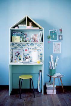 """Une """"maison bureau"""" originale et fonctionnelle"""