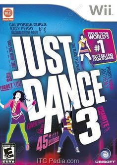 JUST DANCE 3 - Wii Games - http://www.itcpedia.com/2012/11/just-dance-3-wii-games.html