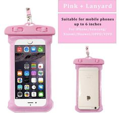 Clear Waterproof Pouch Dry Bag Holder Case Cover For iPod Touch 4th Gen 4G