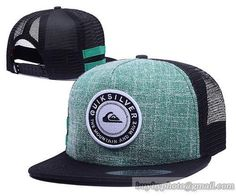 QUIKSILVER Mesh Snapback Hats Quick-drying cap 009|only US$6.00 - follow me to pick up couopons.