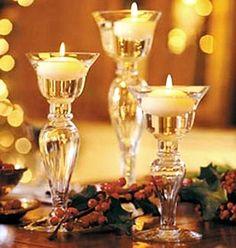 crear ambientes navideños con velas
