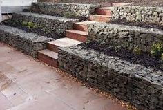 Bildergebnis für gabion wall design