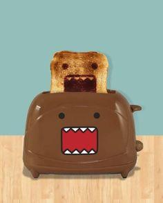 Torradeira monstro, pão monstro!
