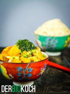 Süßkartoffeln-Curry