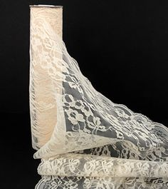 this looks like a good deal.... you should be able to get 5 table runners from 10 yards. we could use some as runners along with the old lace pieces     Lace Ivory 14in x 10yds