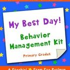 """Looking for a new behavior management system or need to beef-up your existing one? Try """"My Best Day! Behavior Management Kit"""". This is a simple, ta..."""