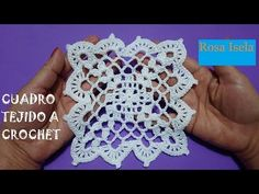 Crochet Square Patterns, Crochet Diagram, Freeform Crochet, Crochet Squares, Crochet Motif, Irish Crochet, Crochet Designs, Crochet Flowers, Crochet Doilies
