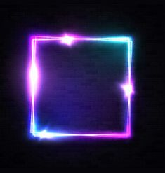 realistic square neon sign for decoration flyer Green Background Video, Black Colour Background, Green Screen Video Backgrounds, Neon Backgrounds, Studio Background Images, Banner Background Images, Background Images Wallpapers, Gif Background, Lights Background