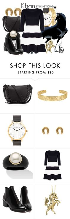 """""""Khan"""" by leslieakay ❤ liked on Polyvore featuring Rebecca Minkoff, Sam Edelman, The Horse, Palm Beach Jewelry, Target, disney, disneybound and plussize"""