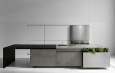 Concrete kitchen by Martin Steininger  [Red Dot Design Award 2012]