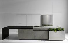 Concrete kitchen by Martin Steininger  [Red Dot Design Award 2012]