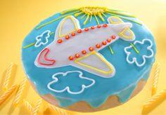 Samolot. Kliknij w zdjęcie, aby poznać przepis. #ciasta #ciasto #desery #wypieki #cakes #cake #pastries