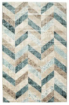Ziggy - Blauw tapijt 200x300