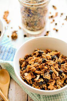 Blueberry and Buckwheat Granola